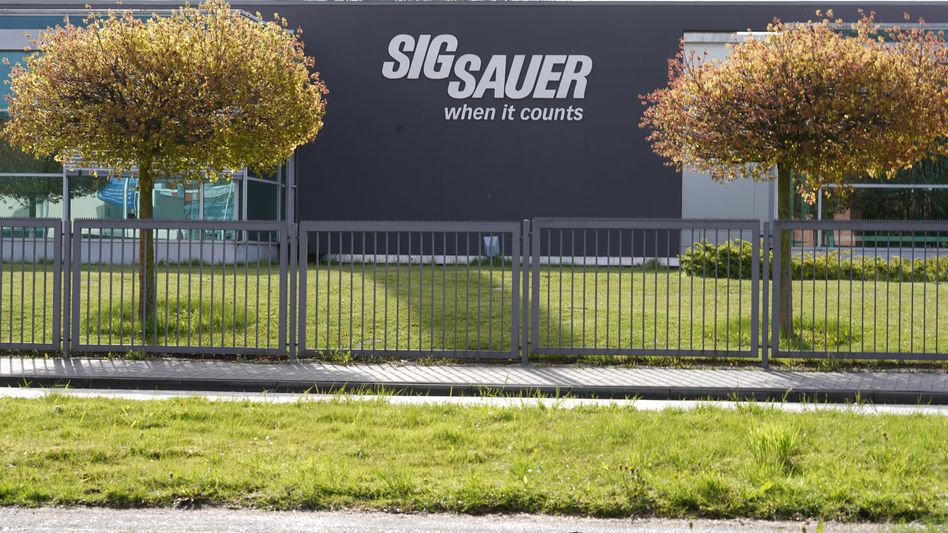 Sig-Sauer-Firmenzentrale im schleswig-holsteinischen Eckernförde