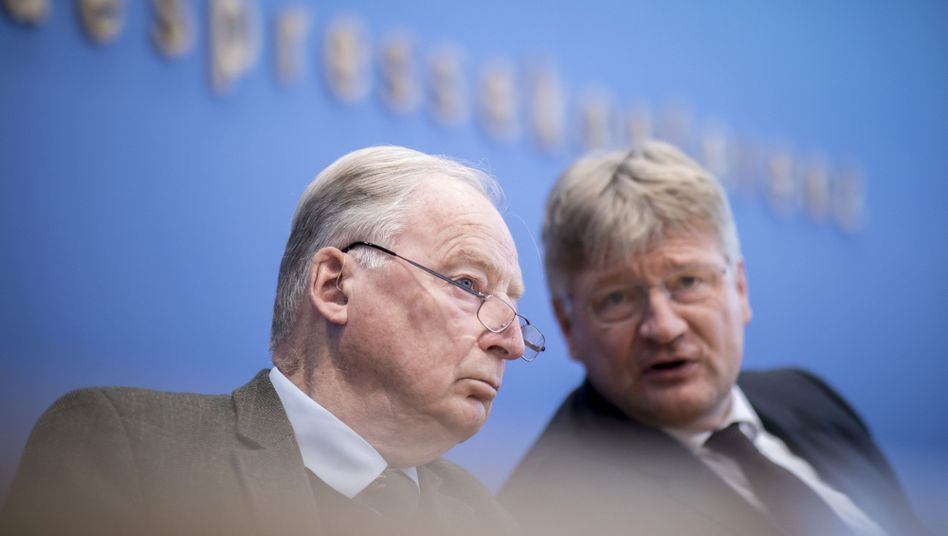 Alexander Gauland, Jörg Meuthen