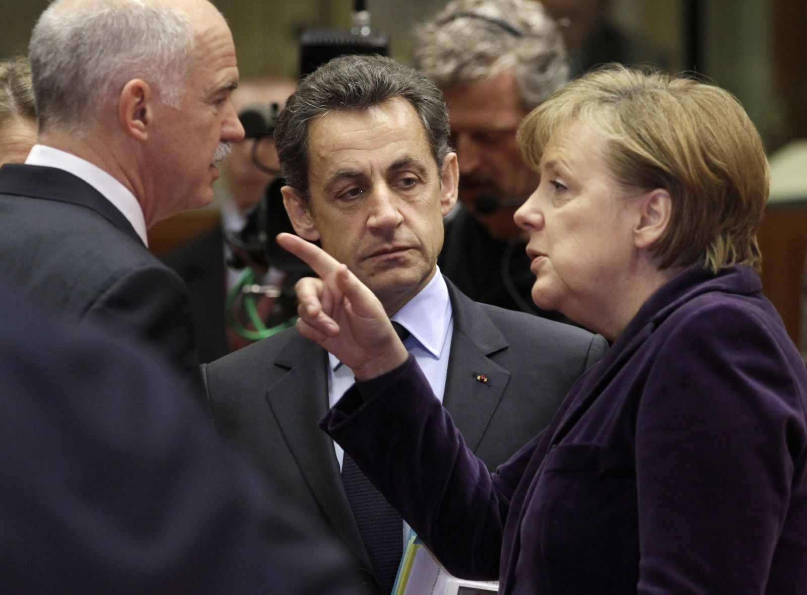 Merkel / Papandreou / Sarkozy
