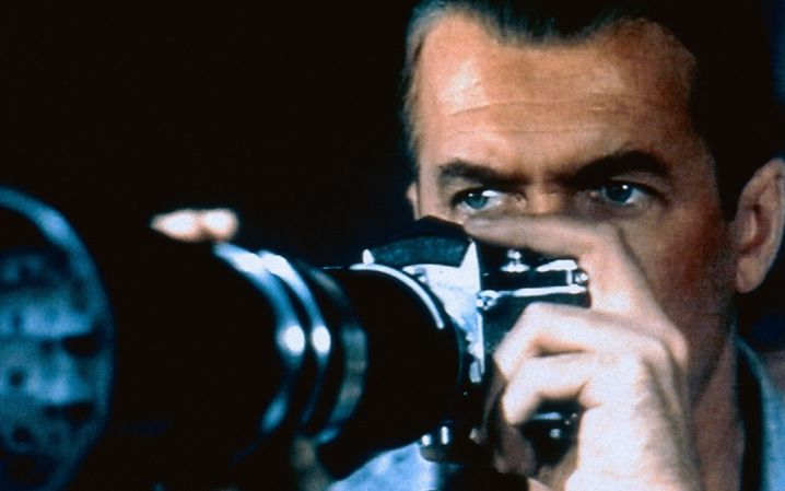 """James Stewart in """"Das Fenster zum Hof"""": Die Angst des weitgereisten Strahlemannes vor der zur Sesshaftigkeit entschlossenen Traumfrau"""