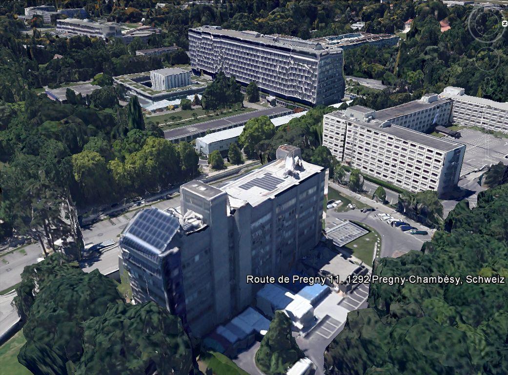 NUR ALS ZITAT Screenshot Google Earth