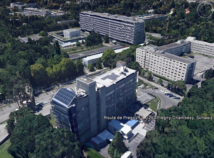 US-Botschaft in Genf: Seltsame Aufbauten in der Nähe des Uno-Geländes