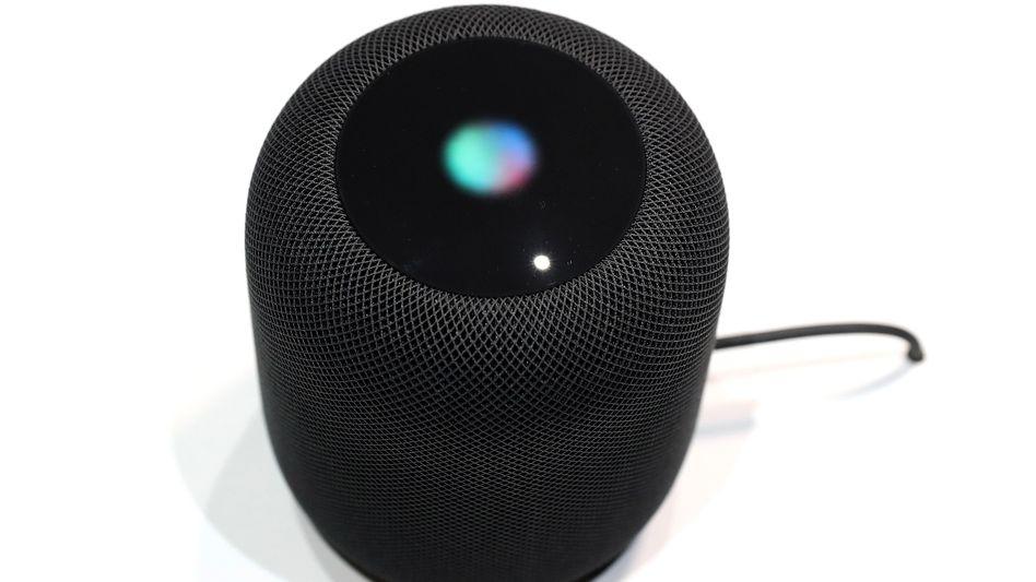 """Apples HomePod reagiert nicht nur auf """"Hey, Siri"""", sondern auch mal auf """"Hey sorry"""""""