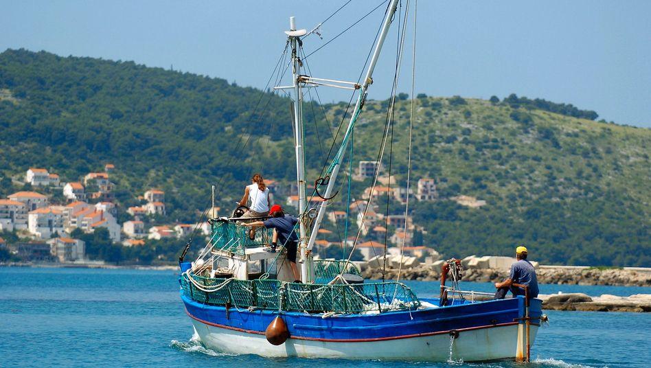 Bucht vor der Insel Solta: Hier soll das ungewöhnliche Luxushotel entstehen.