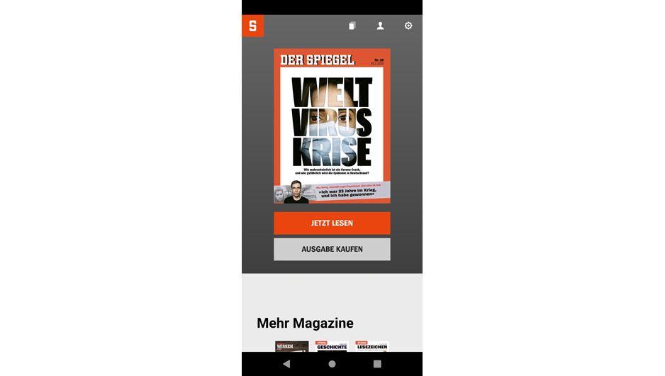 Der digitale SPIEGEL auf dem Smartphone: Das Nachrichtenheft überall lesen