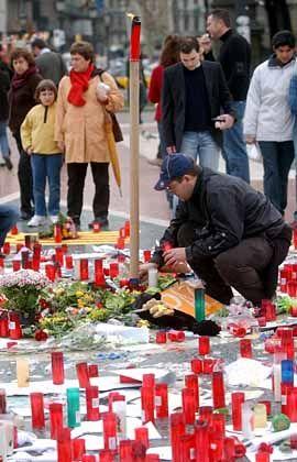 Demonstration gegen den Terror
