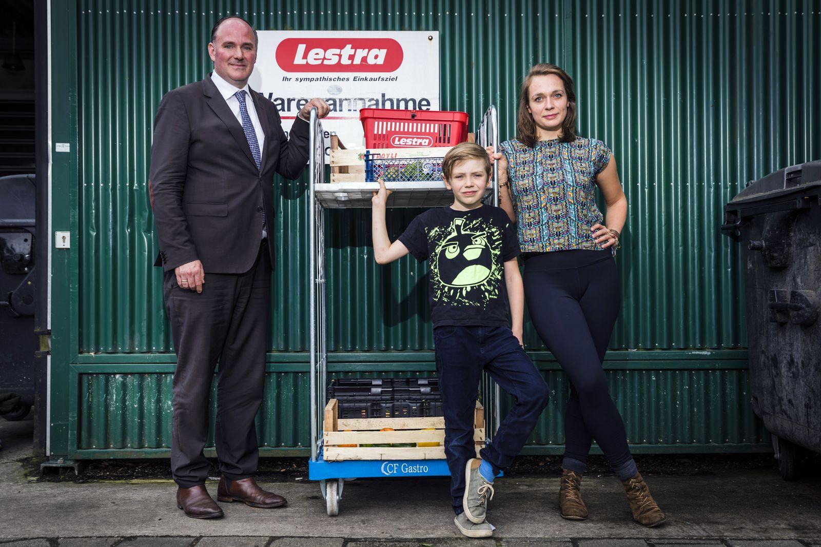 EINMALIGE VERWENDUNG Bremer Supermarkt erlaubt das Containern.