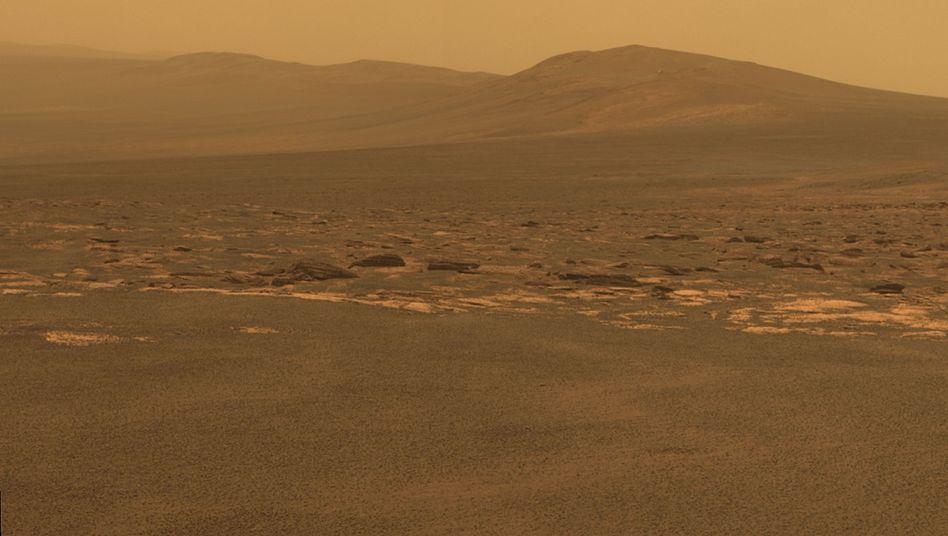"""Am Rand des """"Endeavour""""-Kraters: Mars-Rover """"Opportunity"""" hat sein Ziel erreicht"""