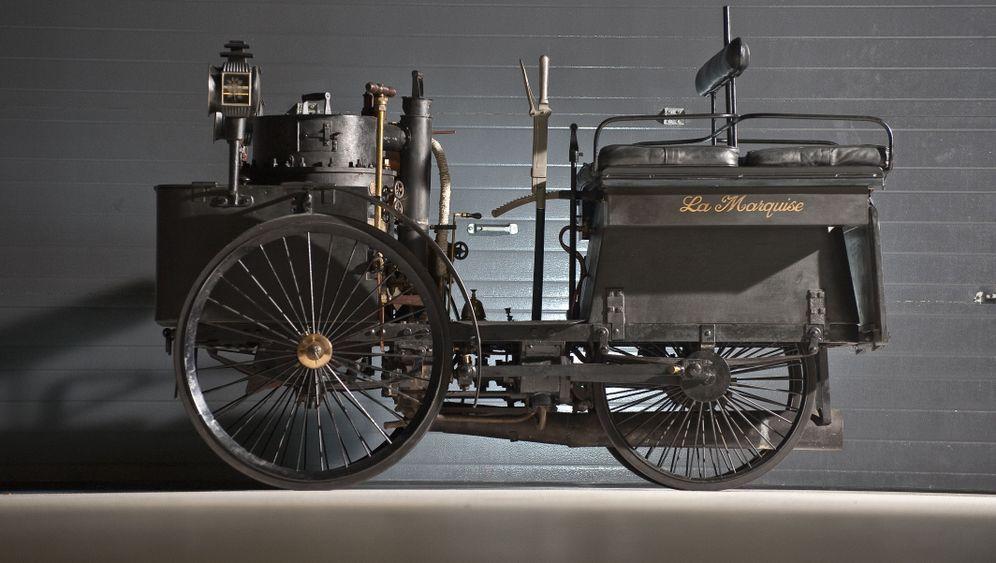 Dampfwagen-Versteigerung: Automobiles Fossil unterm Hammer