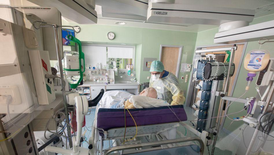 Covid-19-Patient in Bayern: Das Coronavirus verursacht nicht nur grippeähnliche Symptome