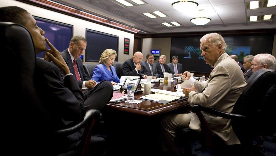 Obama im Situation Room: Viren-Angriff auf Iran mit Stuxnet