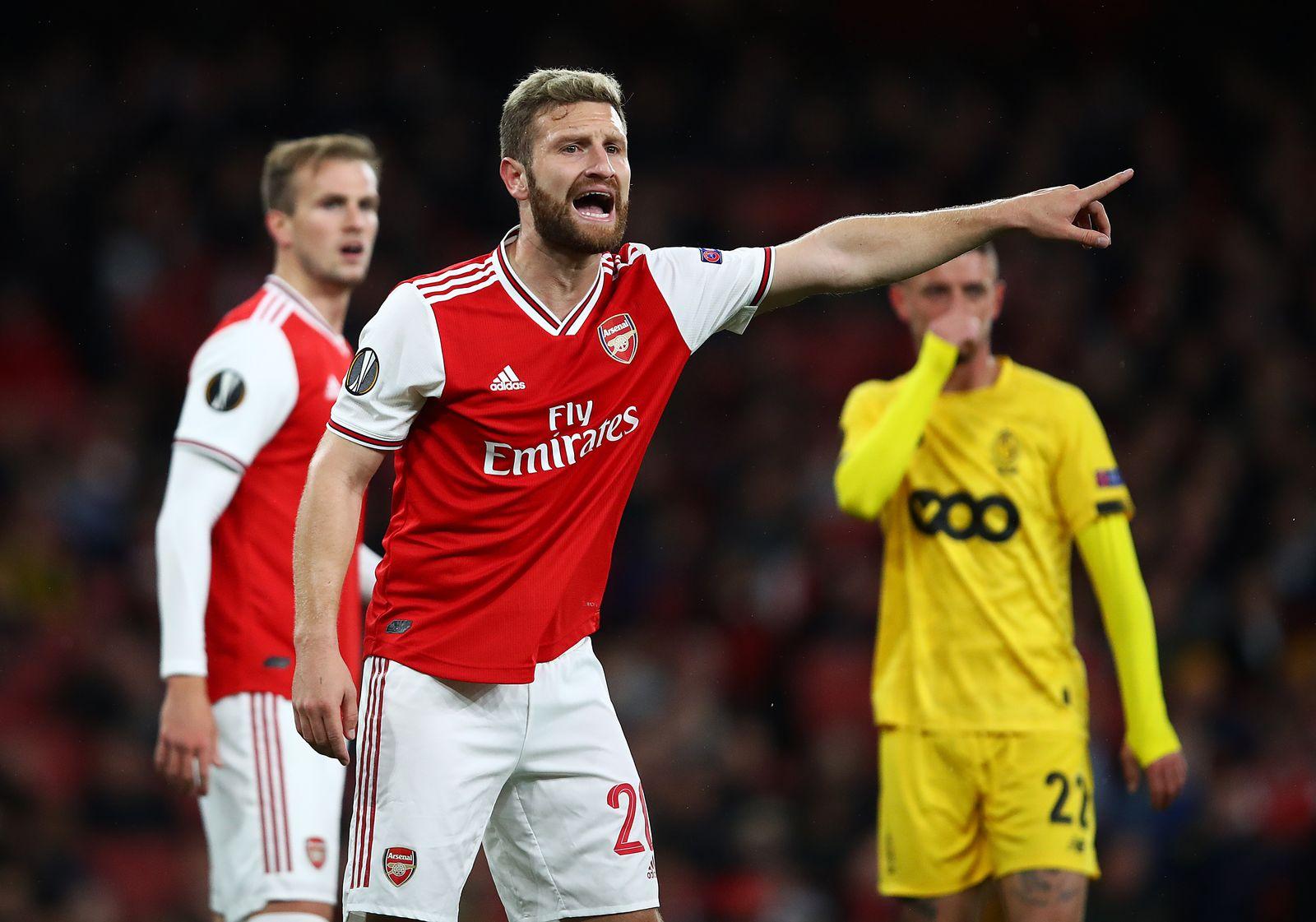 Shkodran Mustafi FC Arsenal