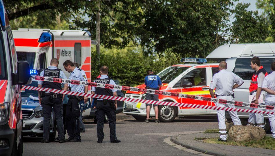 Polizei und Rettungsdienst in Leinfelden-Echterdingen
