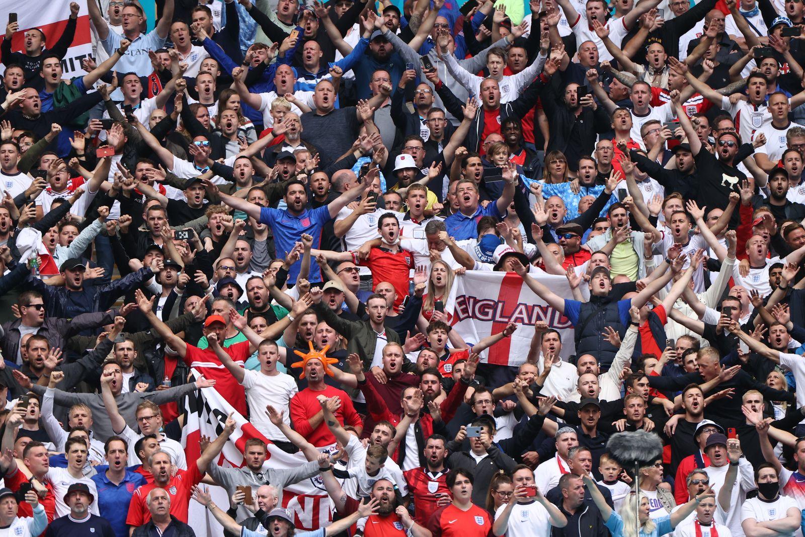 Fußball EM - England - Deutschland