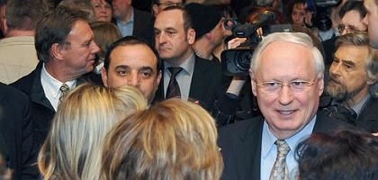 Linksparteichef Lafontaine in Saarbrücken: Nirgendwo ist die Linke so stark
