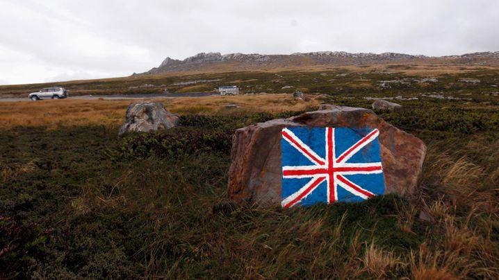 Streit um Falklands: Kalter Krieg per Annonce