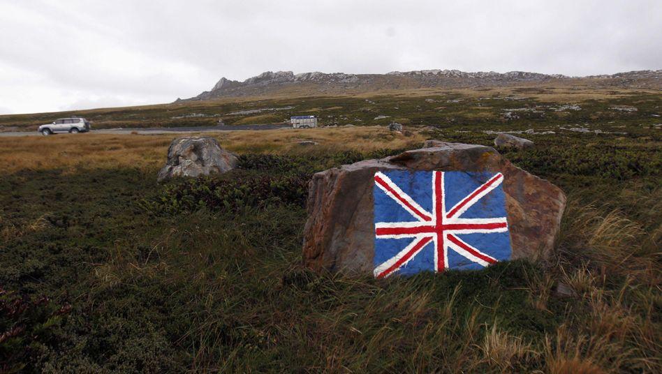 """Flagge Großbritanniens auf den Falklandinseln: """"Sehr konkrete Gefahr"""""""