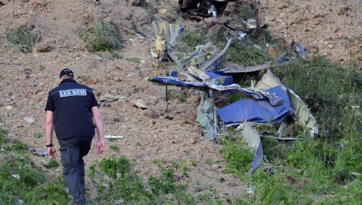 """Ermittlungen der Staatsanwaltschaft: Learjet kollidierte mit """"Eurofighter"""""""