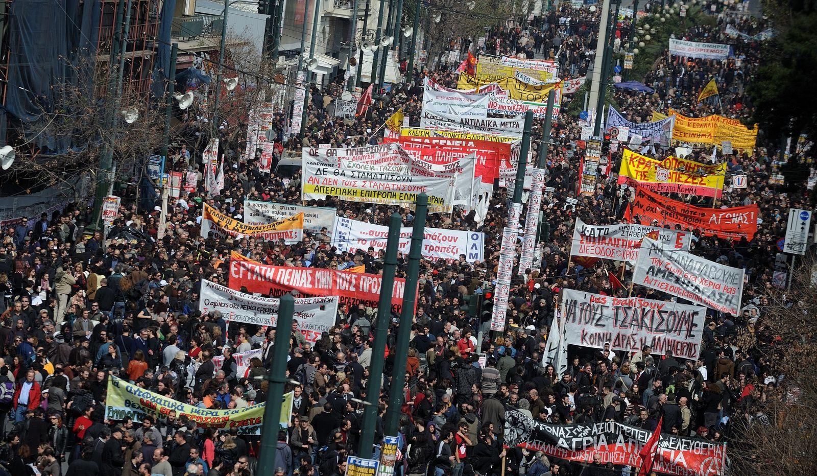 Griechenland/ Streik/ Demo