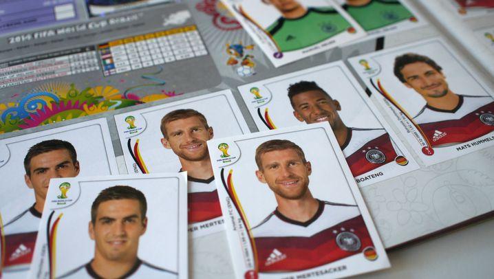 Panini-Sticker-Analyse: Deutschland stark, Niederlande schwach
