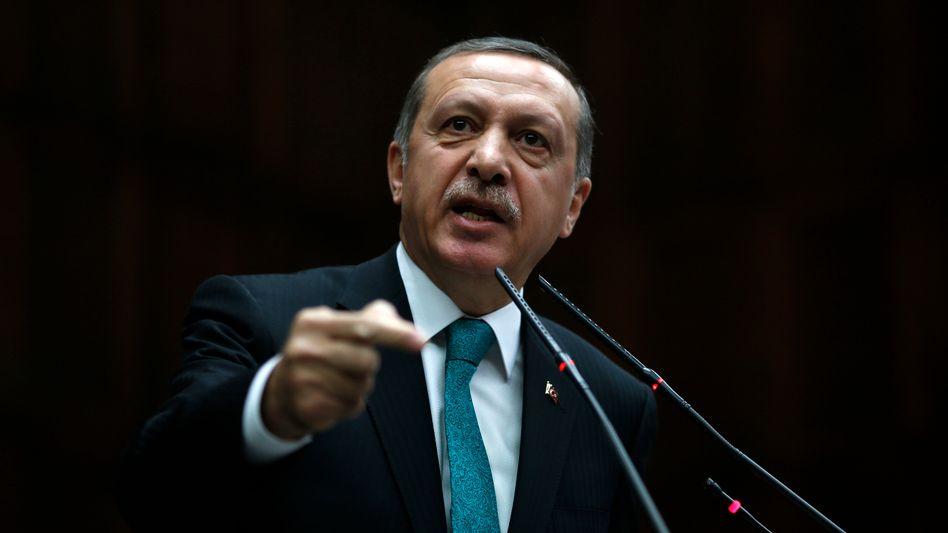 "Türkischer Premier Erdogan: ""Unmoralische Montagen"""