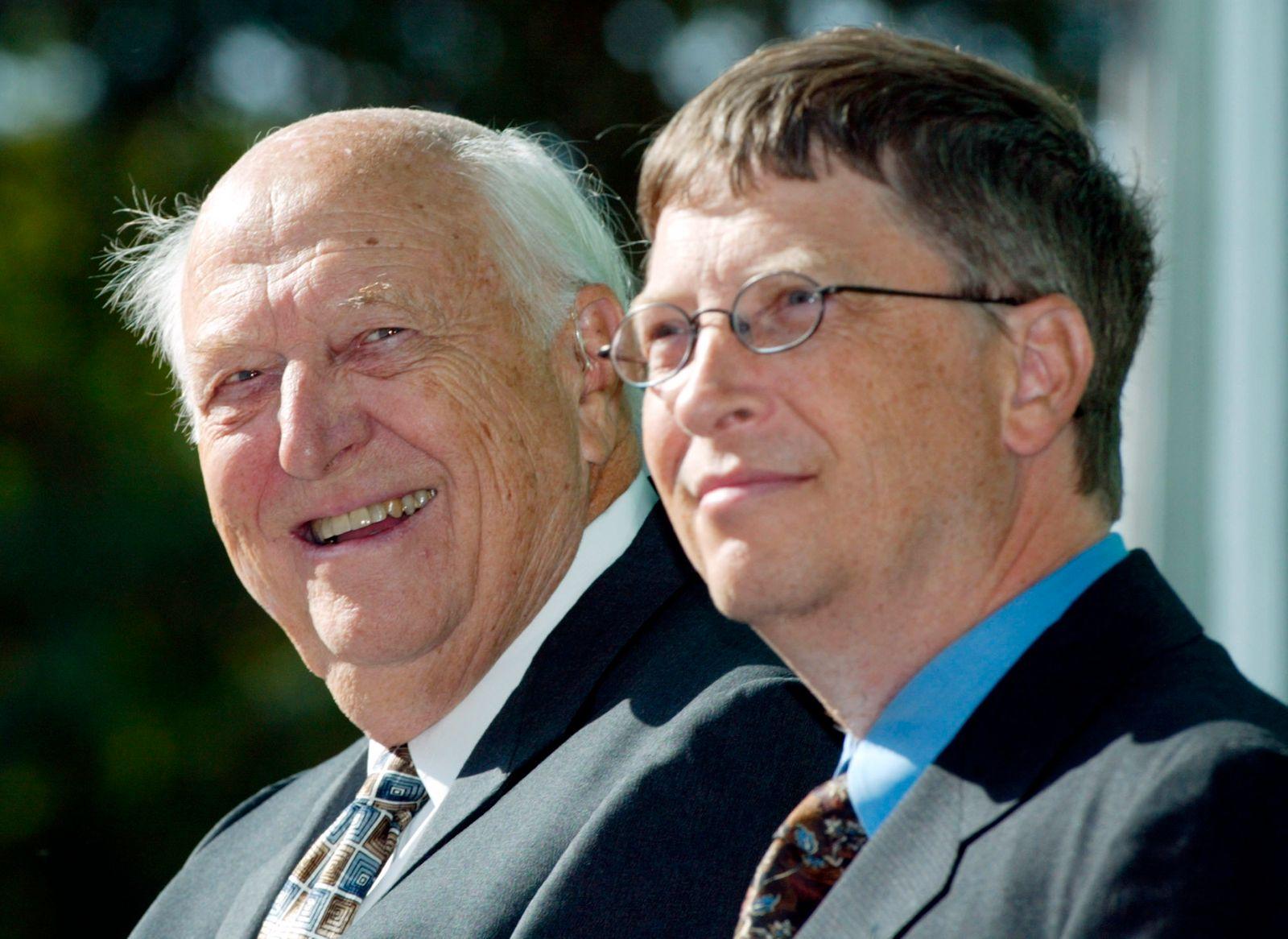 Vater von Microsoft-Gründer Bill Gates gestorben