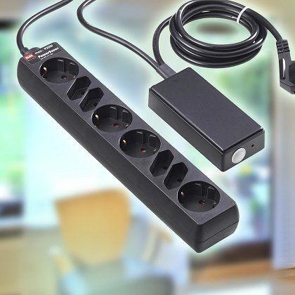 Schaltbare Steckerleiste: Mit solchen Geräten lassen sich elektrische Verbraucher am besten zum Strom sparen überreden