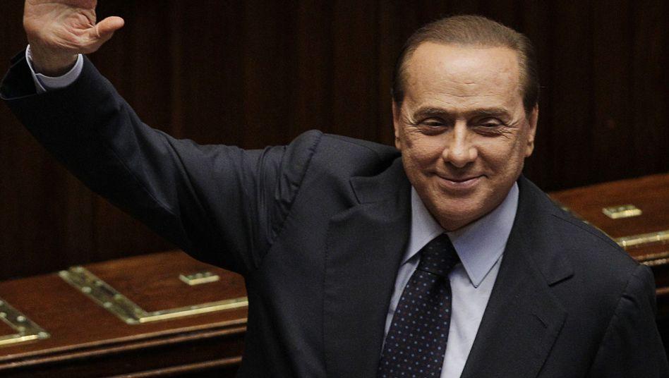 """Regierungschef Berlusconi: """"Zu Neuwahlen bereit"""""""