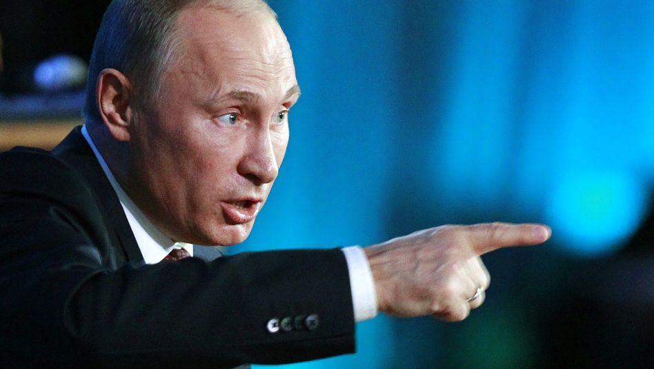 Russlands Präsident Wladimir Putin: Umstrittenes Gesetz unterzeichnet