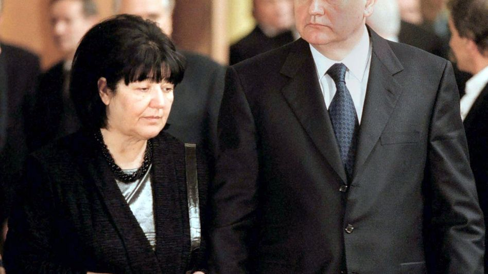 Slobodan Milosevic und seine Frau Mirjana
