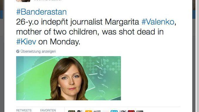 Tweet mit einem Foto des angeblichen Mordopfers: Die Frau gibt es wirklich, doch sie ist eine andere