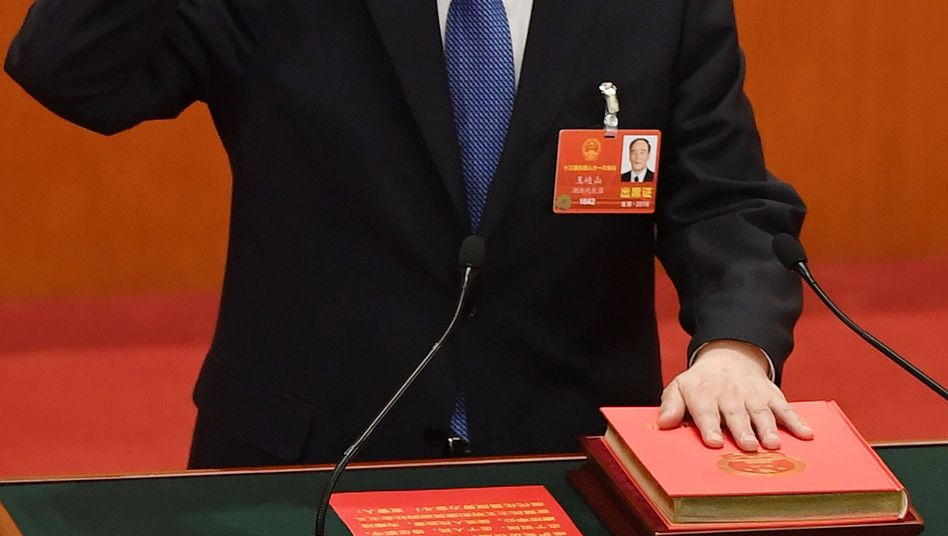 Vizepräsident Wang Qishan