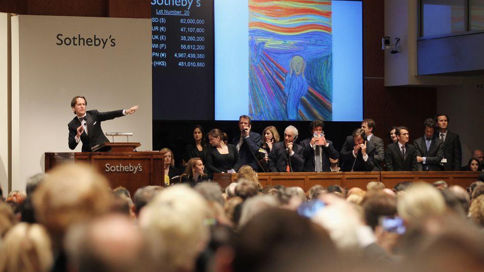 Auktion im New Yorker Sotheby's (Symbolbild)