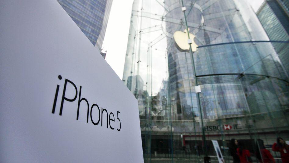 Apple Store in Shanghai: Skandalöse Missstände bei Apple-Zulieferern