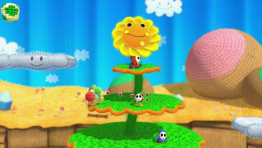 """""""Yoshi's Woolly World"""": Diese neue Nintendo-Spiel ist kunterbunt"""