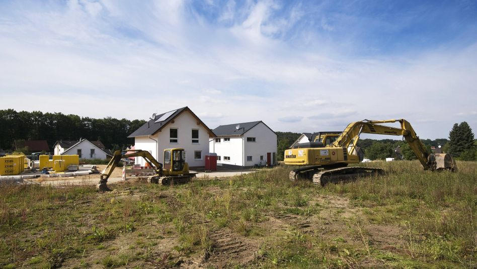 Neubaugebiet in Nordrhein-Westfalen