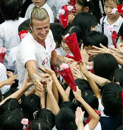 Globaler Kult: Beckham-Mania in Japan