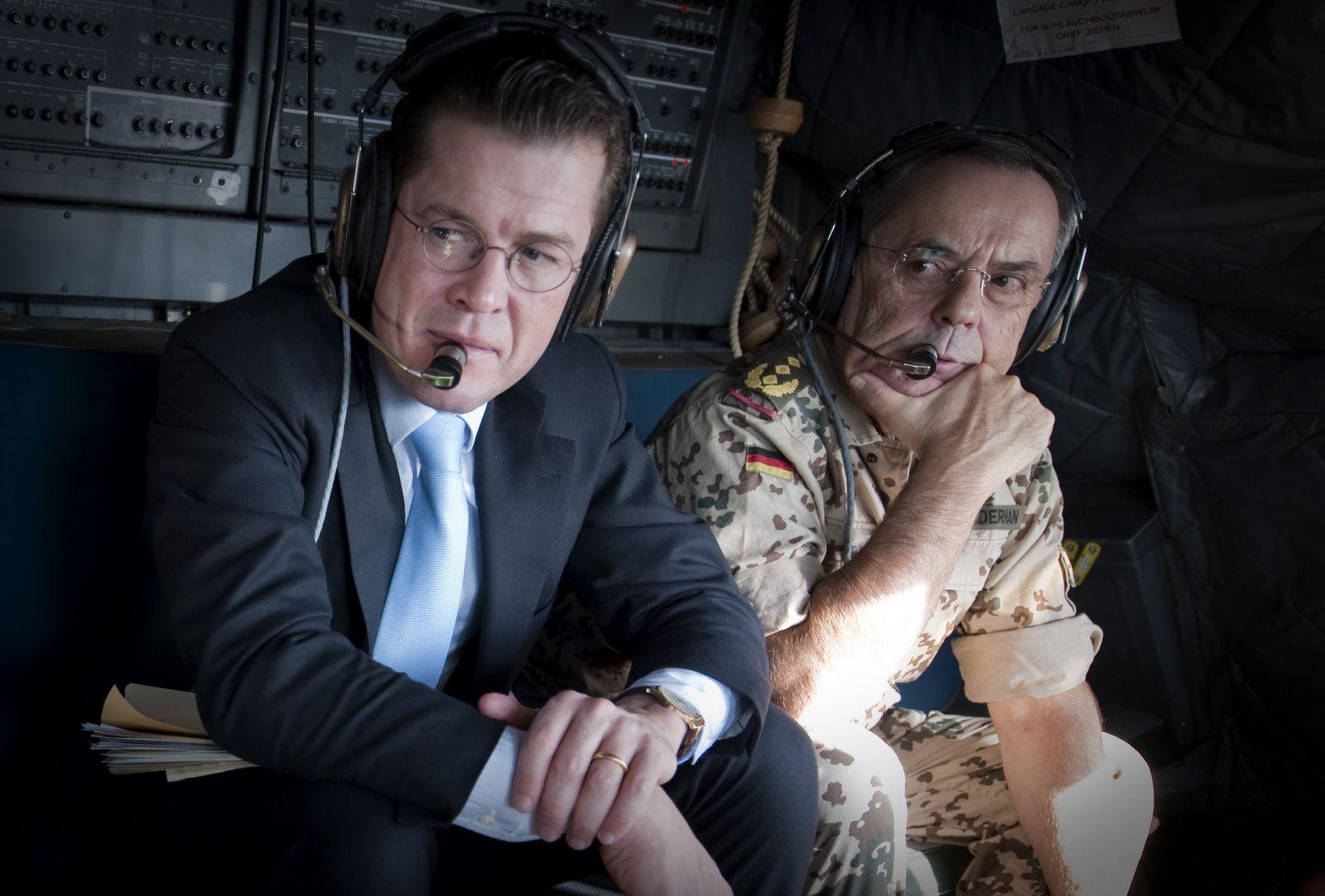 NICHT VERWENDEN Ex-Generalinspekteur Schneiderhan sagt zur Kundus-Affaere aus