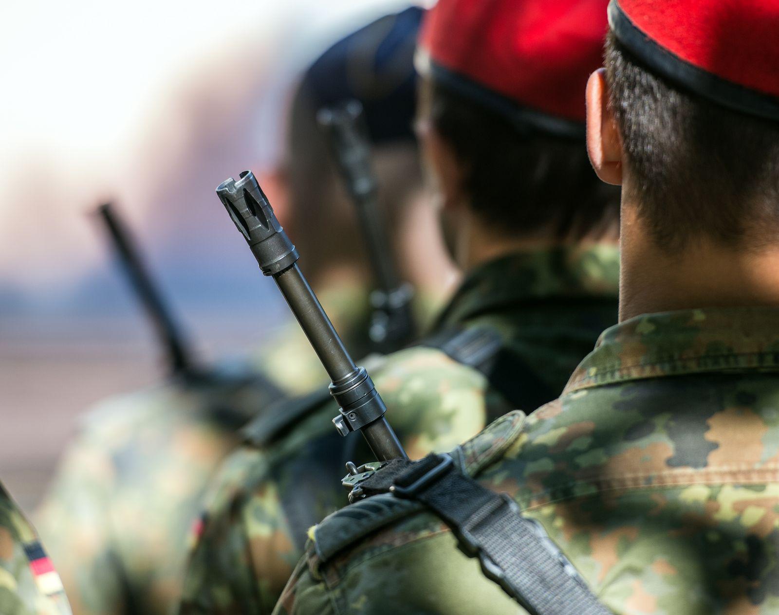 Symbolbild Bundeswehr Soldaten