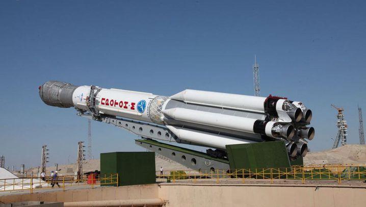 Russische Raumfahrt: Mit Staatskonzern aus der Krise