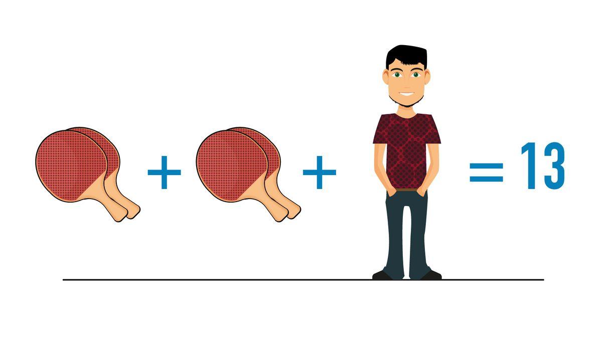 rätsel mit turnschuhen männchen und pommes