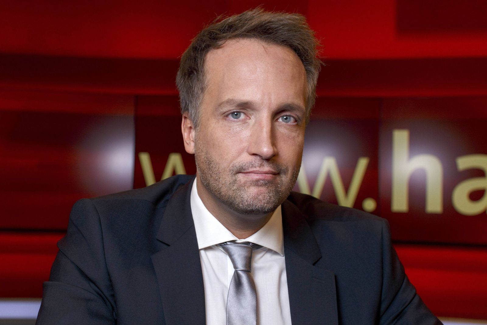 Ralf Höcker in der ARD Talkshow hart aber fair im WDR Fernsehnstudio B Köln 05 12 2016 Foto xC xHa