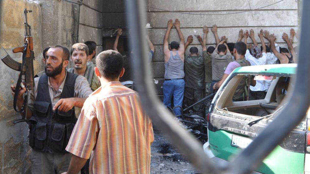 Aufstand in Syrien: Auf der Flucht vor dem Krieg