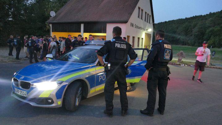 Polizeieinsatz am Montagabend