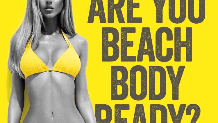 Werbekampagne von Protein World: Hast du eine Strandfigur?
