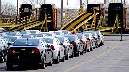 Chevrolet der Marke GM: Schwacher Absatz vor allem in Europa und Nordamerika
