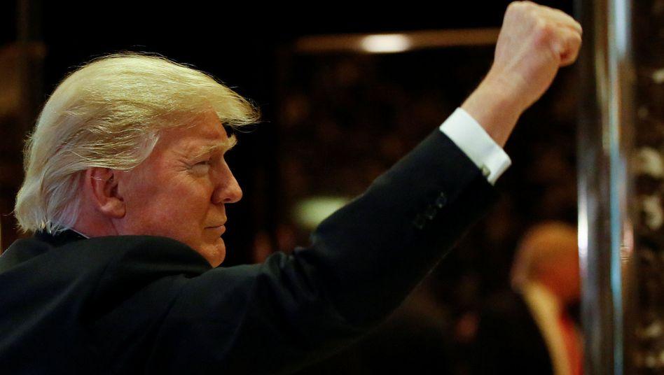 Künftiger US-Präsident Donald Trump
