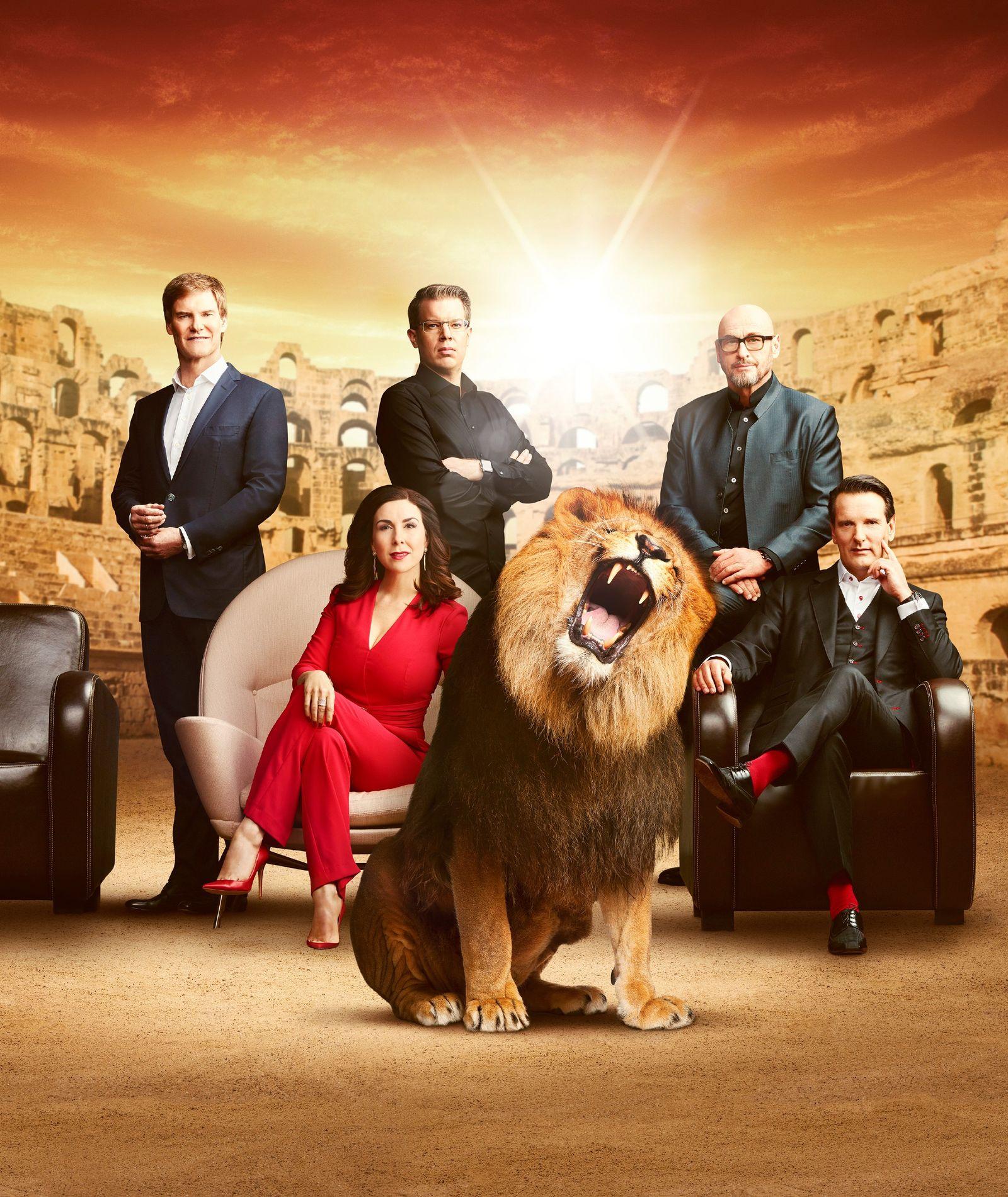 EINMALIGE VERWENDUNG Die Höhle der Löwen