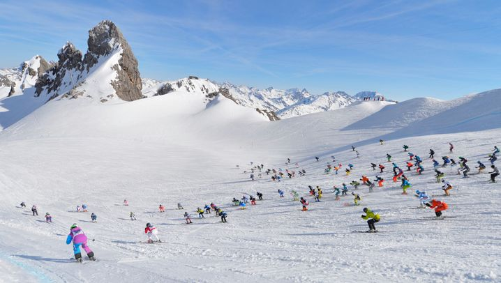 Kultrennen am Arlberg: 555 Sportler im Infernorennen