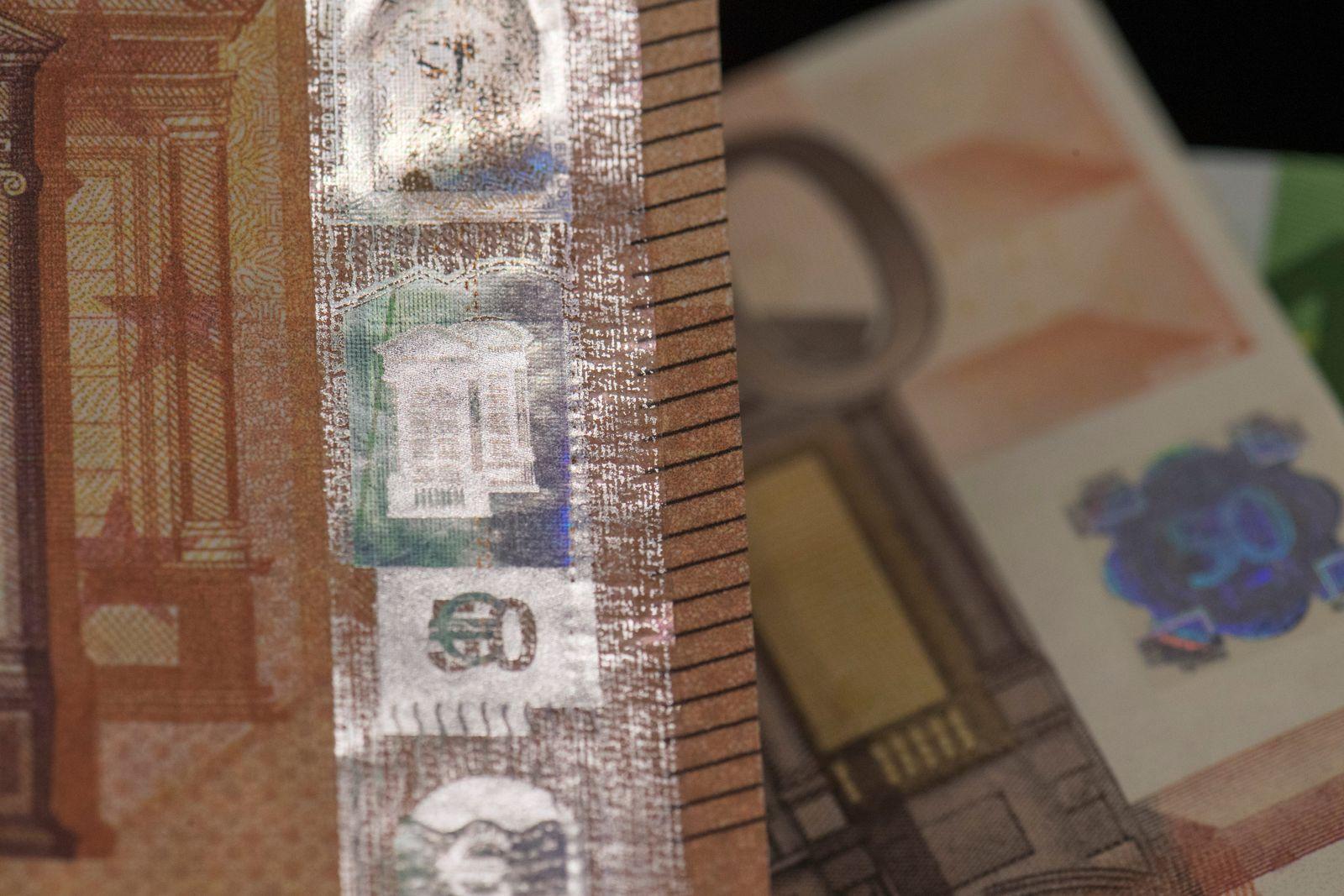 Falschgeld/ 50 Euro/ Schein